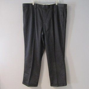 NWT Dockers D4 Black Pleated & Cuffed Pants 44x30